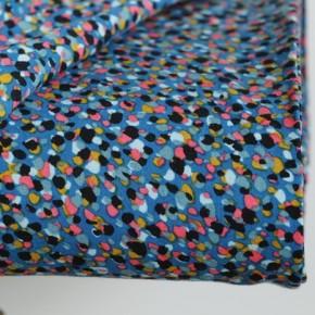 tissu viscose alice bleu
