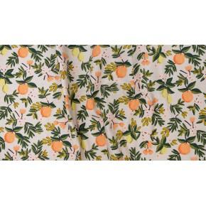 canvas citrus floral sand - rifle paper co