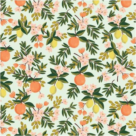 citrus floral mint - rifle paper co