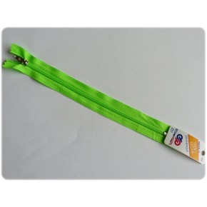 Fermeture éclair vert fluo