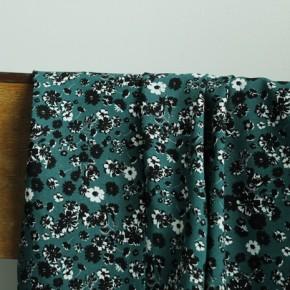 tissu viscose imprimé fleurs amandine