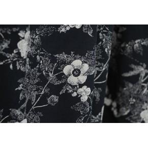 tissu viscose fleurie fluide