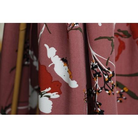 jolie viscose fleurie pour robe