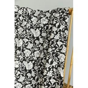 tissu viscose ananda à fleurs