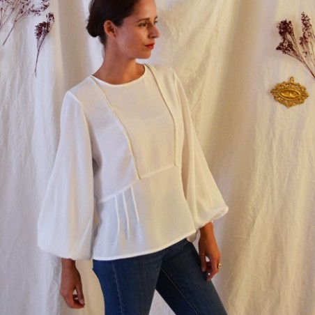 blouse maya - maison fauve