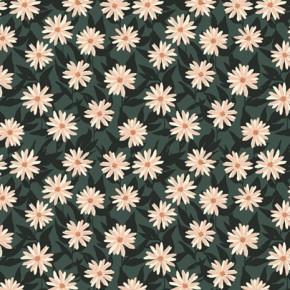 coton imprimé art gallery fabrics - lilas pressed flowers