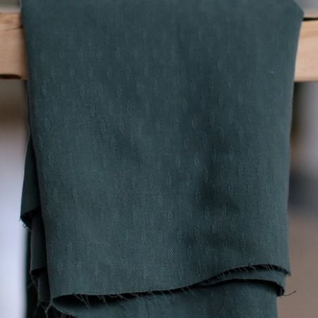 tencel light diamond deep green - meetmilk