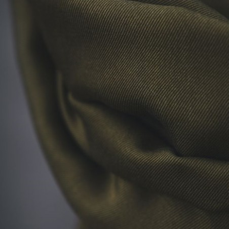 smooth drape twill khaki - meetmilk