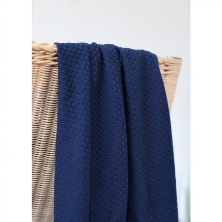 organic wicker knit indigo night - mind the maker