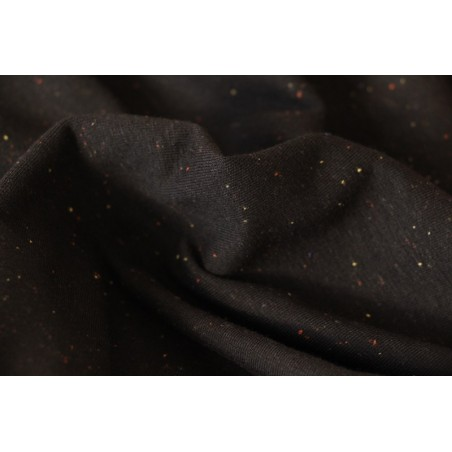 sweat moucheté noir
