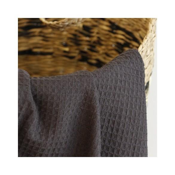 tissu au mètre nid d'abeille