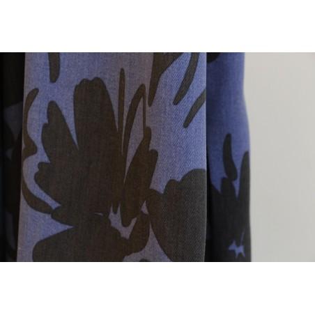 tencel imprimé fleurs