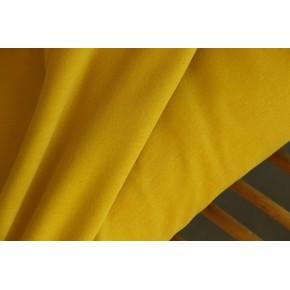 molleton bio jaune moutarde
