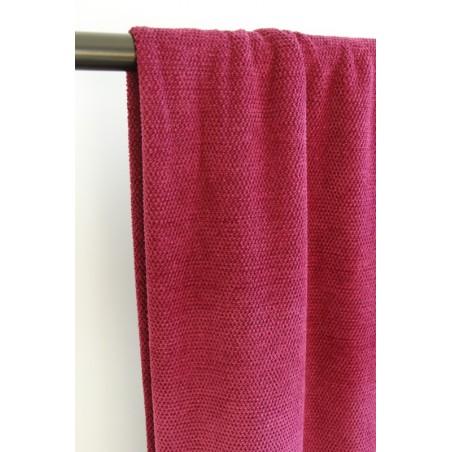 tissu jersey rose fuchsia
