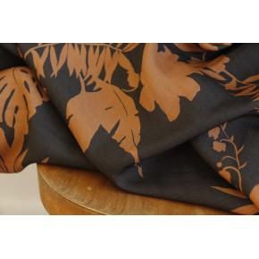 tissu viscose imprimé fleurs tropicales