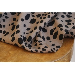 tissu imprimé léopard