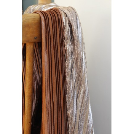 tissu plissé au mètre