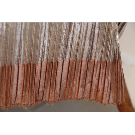 tissu plissé pour jupe de fête