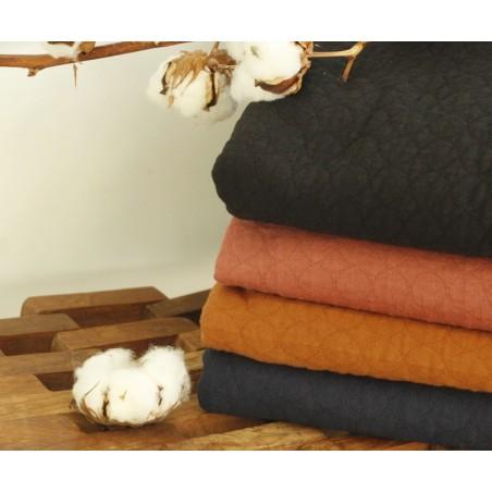 jerseys matelassés certifiés gots en 100 % coton