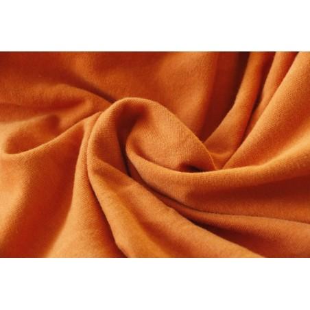 molleton bio gots - orange