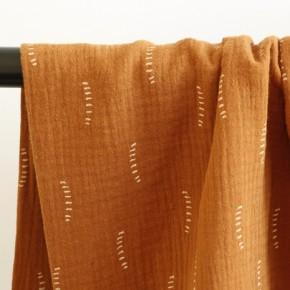 double gaze stripes - caramel