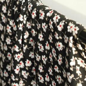 tissu viscose fleurs - elodie