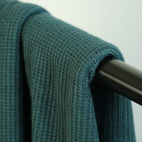 tissu maille tricot vert