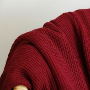 maille tricot bordeaux