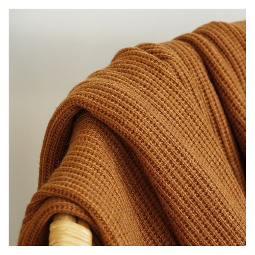 maille tricot ocre