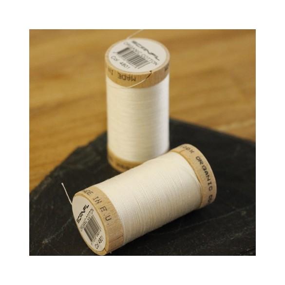 fil coton bio scanfil - écru