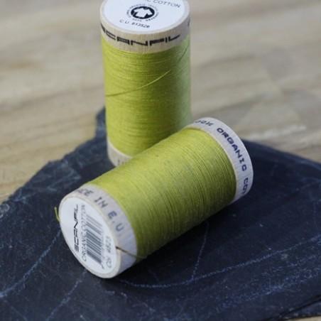 fil coton bio scanfil - vert olive