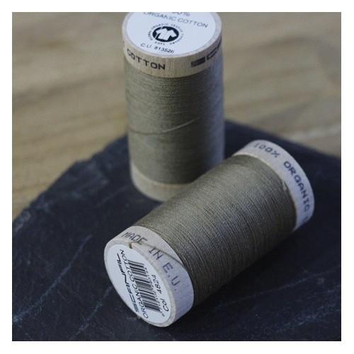 fil coton bio scanfil - kaki