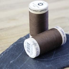 fil coton bio scanfil - marron