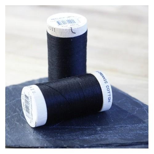 fil coton bio scanfil - noir
