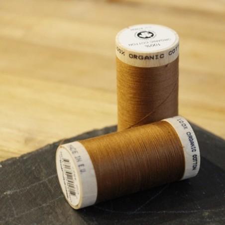fil coton bio scanfil - caramel