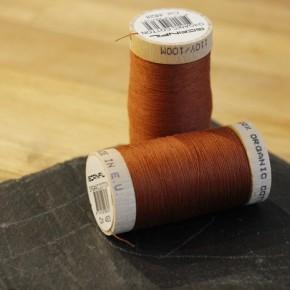 fil coton bio scanfil - fauve