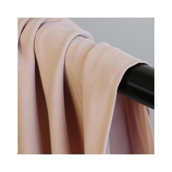 crêpe de viscose - rose tendre