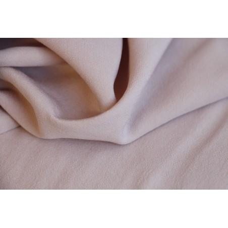tissu rose pâle - crêpe de viscose