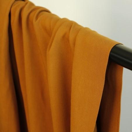 tissu viscose - caramel