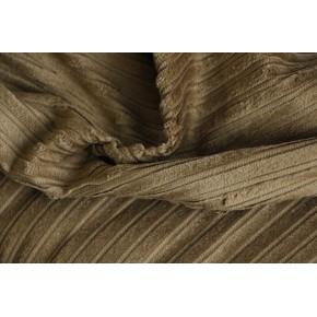 velours pur coton larges côtes - bronze