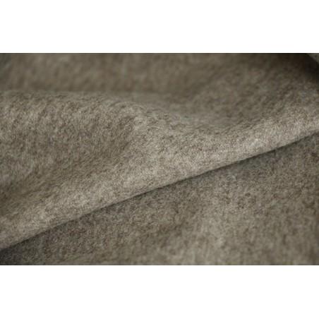 lainage beige pour manteaux