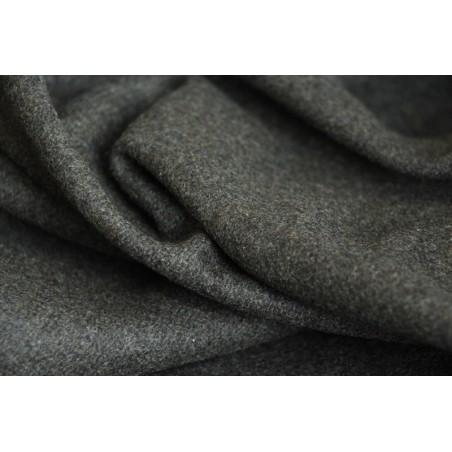 tissu en lainage kaki