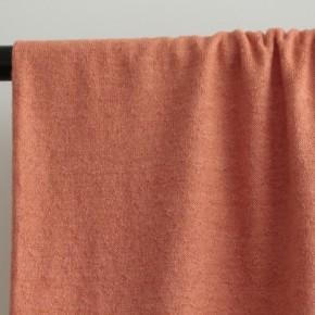 tissu maille losanges - corail