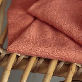 tissu maille - corail