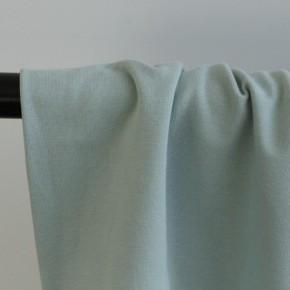 tissu sweat fin vert clair
