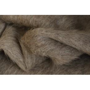 lainage beige chiné en laine/mohair et alpaga