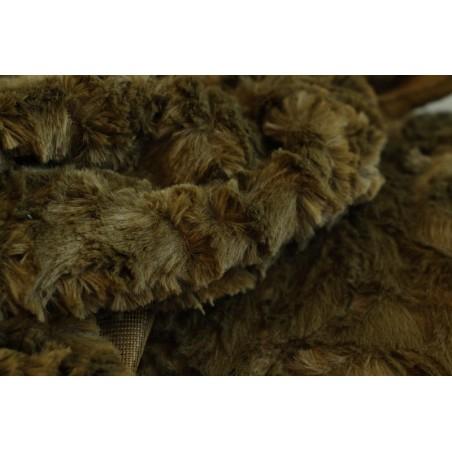 tissu imitation fourrure pour couverture