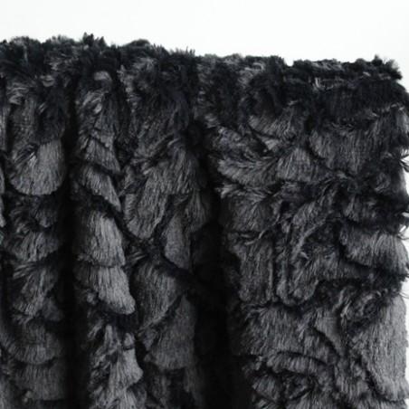 fausse fourrure sven - noir