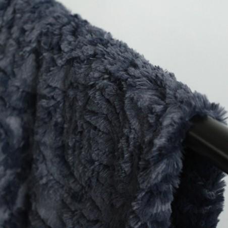 fausse fourrure sven - marine