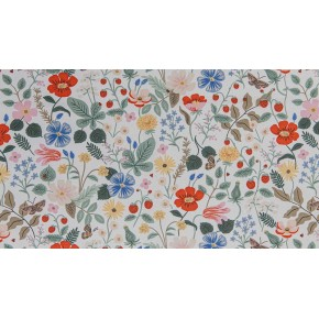 VISCOSE FLEURIE STRAWBERRY FIELDS IVORY - RIFLE PAPER CO